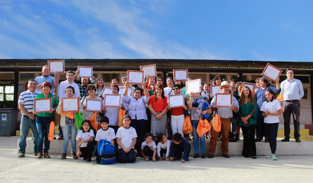 Vecinos de la Comuna de Alhue se Certifican gracias a las Becas Laborales